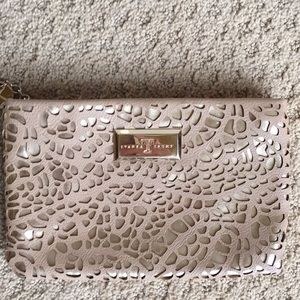 "New Ivanka Trump Zippered Clutch Ret $130 9""x6"""